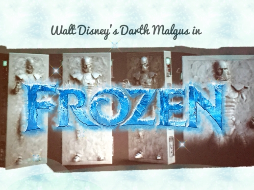 Disney's Frozen in Carbonite