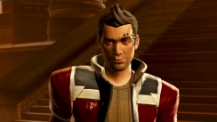 Theron's Sly Smile