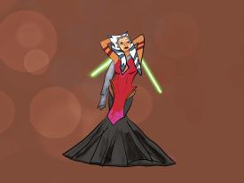 Ahsoka gown