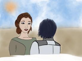 Rebels Leia and Ezra