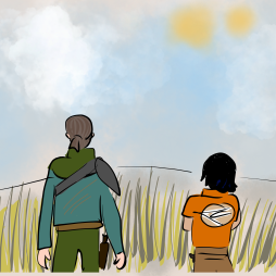 Kanan and Ezra moment