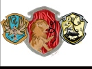 Three of the Houses of Hogwarts